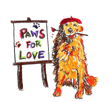 Paws For Love Foundation Logo